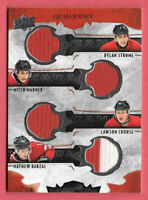 2016-17 Marner - Strome - Crouse - Barzal Upper Deck Team Canada Juniors Jersey