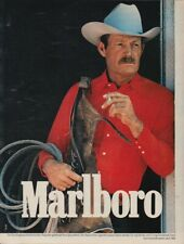 Marlboro Zigaretten - Reklame Werbeanzeige Original-Werbung 1980 (9)
