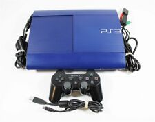 Playstation 3 PS3 Super Slim 250 GB Blue System