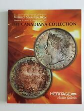 HERITAGE AUCTION CATALOG WORLD COIN CANADIANA COLLECTION JAN 2010 NEW YORK