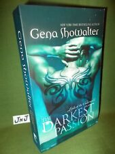 GENA SHOWALTER THE DARKEST PASSION PAPERBACK EDITION