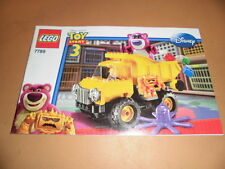 Lego Toy Story Bauanleitung 7789 NEU