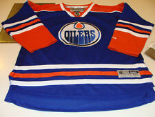 Edmonton Oilers Home Blue Hockey Jersey Child L/XL Reebok Youth Age 12-16 Hockey