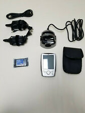 Dell Axim Pocket Pc w/ Charging Dock Pda all power cords, charging base & flash