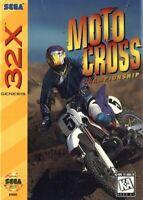 Motocross Championship - Sega Genesis 32X Game