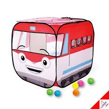 TITIPO Train Handy Ball Tent Kids Play House & Ball 50ea Korea TV Animation