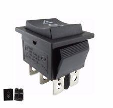 Wipptaster TASTER ON/OFF/ON einbau 28.5 x21.5mm auch als Ersatz für Rasenmäher