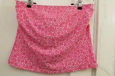 Lands End Bikini 3 Piece 10 Pink Tankini Swimsuit Swimwear Bathing Suit Floral