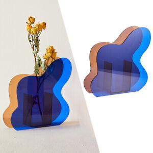 Flower Vase Tabletop Desktop Decor Hydroponic Plants Planter Terrarium