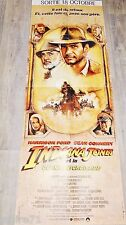 indiana jones ET LA DERNIERE CROISADE   !  affiche cinema rare preventive