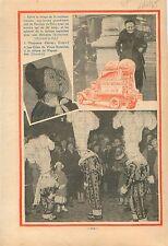Exposition universelle de Bruxelles Brussel Défilé des Gilles 1935 ILLUSTRATION