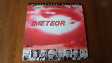 Meteor Widescreen Edition LaserDisc Orion Home Video 1979 Sci-Fi        ED