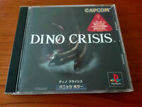 DINO CRISIS  SONY PLAYSTATION PSX PS2 Jap PS1,PS2 SPINE CARD
