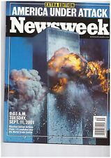 NEWSWEEK 9/11 AMERICA UNDER ATTACK EXTRA EDITION