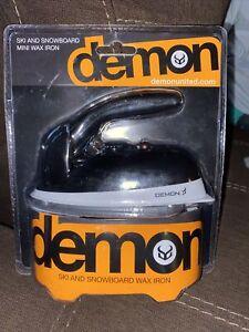 NEW Demon Ski And Snowboard Iron Mini Wax