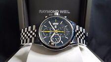 Mens Raymond Weil Freelancer Valjoux 7750 Automatic Chronograph-MINT! RRP $4,550