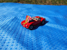 Hot Wheels Classic AC Cobra Shelby Red Yellow Pin Stripe 1982