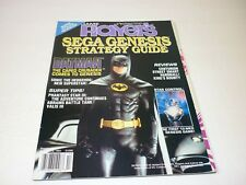 Game Player's Strategy Guide SEGA GENESIS Volume 2 No 3 Batman Valis III 1991