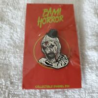 Terrifier Art the Clown Bam Box Exclusive Fan Art Enamel Pin - Brian Romero