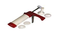 Ronco FD50RDDRM Jerky Gun Kit, White/Red