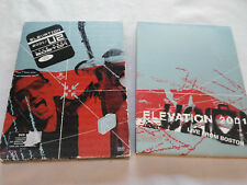 U2 ELEVATION 2001 U2 LIVE FROM BOSTON - 2 X DVD SPECIAL EDITION