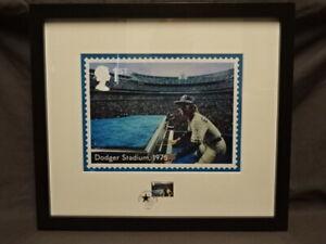Elton John Royal Mail® Framed Dodger Stadium , 1975 Stamp Enlargement