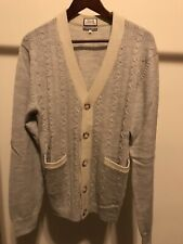 7 For All Mankind Men's Gray Cardigan