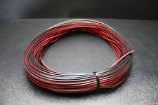 22 GAUGE RED BLACK SPEAKER WIRE PER 10 FT AWG CABLE POWER GROUND STRANDED COPPER