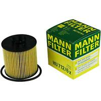 Original MANN-FILTER Ölfilter Oelfilter HU 712/6 x Oil Filter