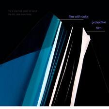 Dark Blue Decorative Window Film Glass Sticker Home Glass Sticker 60''x20''