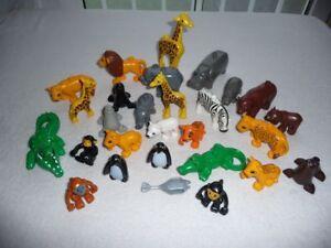 LEGO DUPLO Tiere für ZOO aussuchen - Pinguin Krokodil Elefant Löwe Tiger Reh uvm