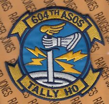 "USAF Air Force 604th ASOS Air Support Operations Squadron TALLY HO 4.5"" patch"