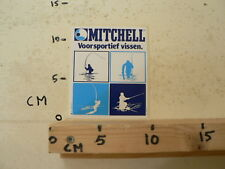 STICKER,DECAL MITCHELL FISHING VISSEN ?VOOR SPORTIEF VISSEN A