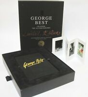 George Best BLESSED Signed Limited Edition Book Manchester United Ireland