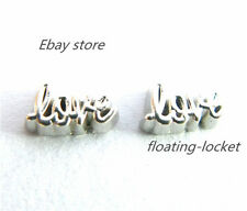 10pcs love Floating charms For Glass living memory Locket FC0510