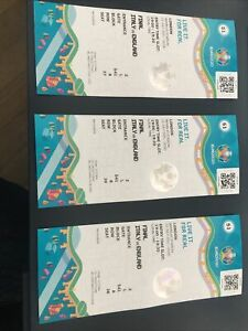 Italy v England Euro 2020 Final Ticket Stub in Mint condition (3 Available)