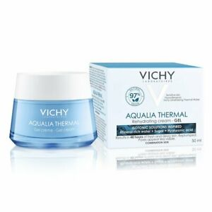 VICHY Aqualia Thermal Rehydrating CREAM GEL 50ml Combination Sensitive RRP £20