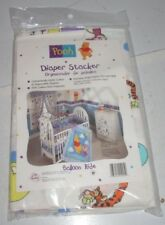 Vintage WINNIE THE POOH Disney Diaper Holder Stacker Classic Pooh Balloon Ride