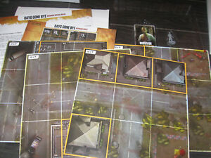 NEW The WALKING DEAD No Sanctuary Days Gone Bye Expansion Kickstarter Exclusive