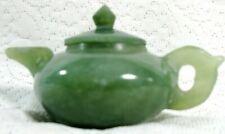 Vintage Jade miniature   Teapot