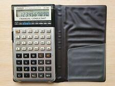 Electronic Calculator CASIO FC-100 Financial Consultant, Taschenrechner #584
