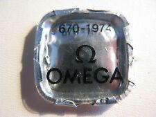 Nn. Omega CALIBRO 670 PEZZO N. 1974-CASE morsetti x 2-inutilizzati