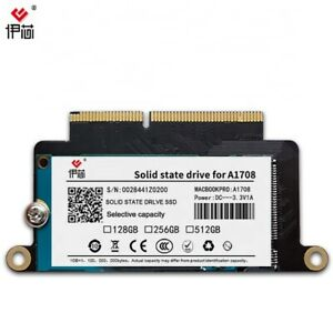 512GB SSD for 2016 2017 Apple MacBook Pro no touchbar A1708 EMC 2978 and 3164