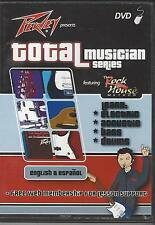 Peavey Total Musician Series DVD - English & Spanisch (drums, guitar, bass)