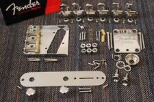 FENDER Telecaster American Hot Rod Compensated Chrome Hardware Set w/ Tuners