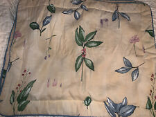 Excellent Croscill Vintage Botanica Gazebo Pillow Sham King 1-pc