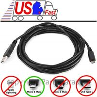 10ft long USB Micro 5pin Digital Camera/Phone/Charger/Sync/Data Cable/Cord/Wire