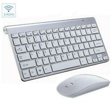 2.4GHz Cordless Wireless Keyboard and Mouse Set for Laptop, Desktop or Mac