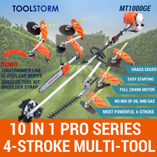 4-STROKE Pole Chainsaw Hedge Trimmer Grass Edger Brush Cutter Whipper Snipper