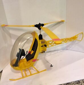 VINTAGE GI Joe - Hasbro - Adventure Team Yellow Helicopter 1971
